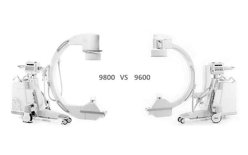 9800 C-arm vs 9600 C-Arm