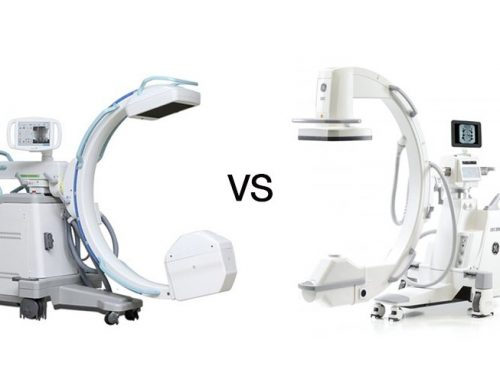 GE OEC Elite CFD vs Genoray Oscar 15 C-Arm Comparison